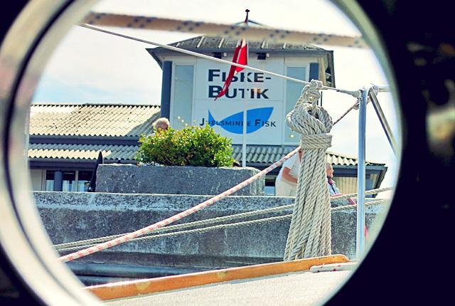 Fiske Butik Juelsminde Dänemark
