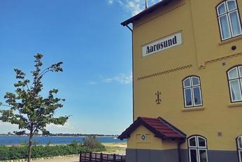 Badehotel Aaroesund Restaurant für Segler