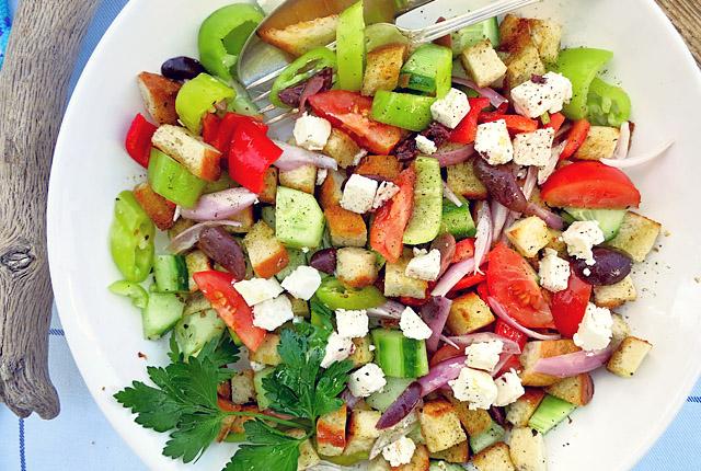 Panzanella Bauernsalat Fusion Rezept für Pantry