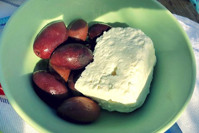 Kalamata Oliven und Feta aus Griechenland