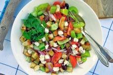 Rezept Bordküche: Panzanella griechische Art