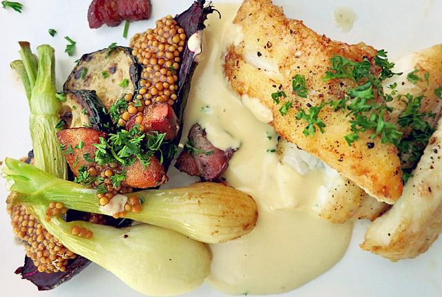 Tunø Fischgericht Restaurant Tipp für Segler