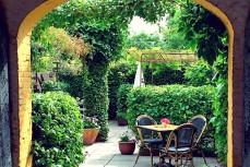 Seglerkneipen Aeroe Mumm Garten