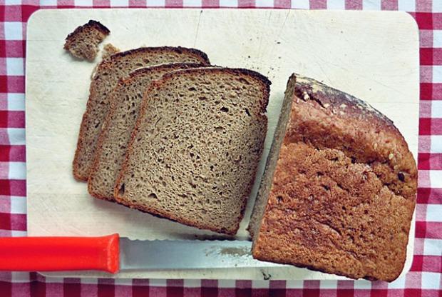 Roggenbrot für Reuben Sandwich