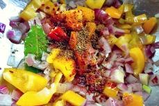Kochen an Bord Linsenchili vegan