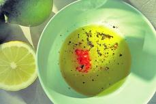 Kochen an Bord: Schnelles Mango-Gurken-salat Dressing