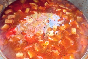 Pantry Rezept Rezept Soljanka mit Tomatenmark