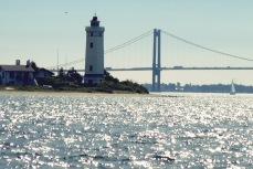Sommertörn Strib mit Brücke