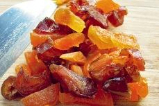 Beef Stew mit Bordproviant: Datteln und Aprikosen