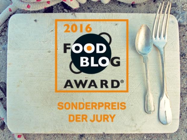 """Food Blog Award 2016 Sonderpreis für """"Die See kocht"""""""
