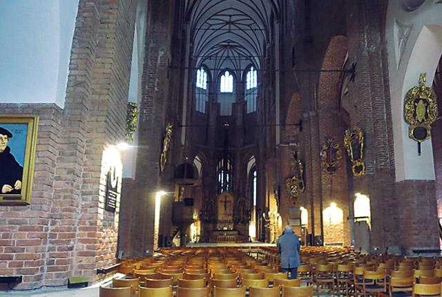 Der Dom von Riga, Innen