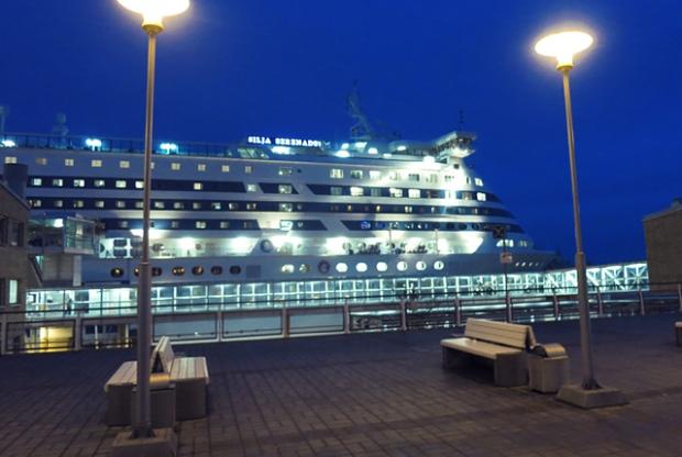 Silja Serenade in Helsinki