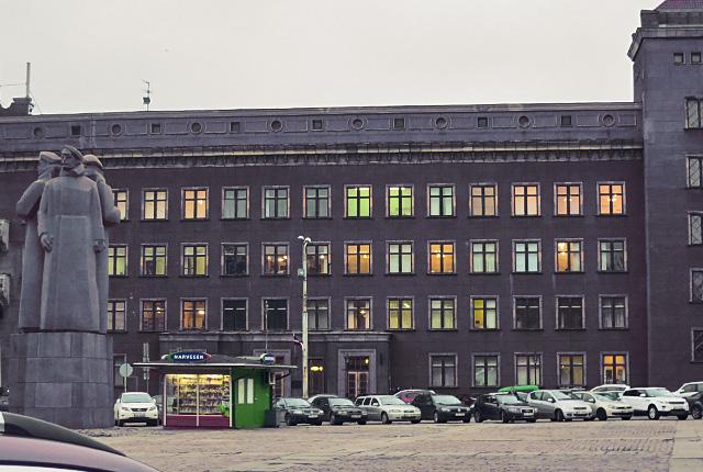 Graues Riga, Baltikum