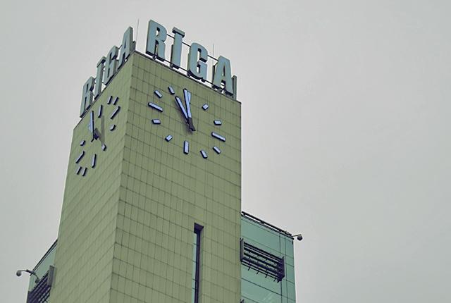 Riga, Baltikum im November