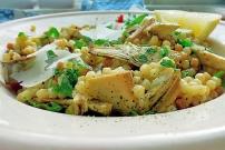 Pasta aus Sardinien: Fregola mit Gemüse Rezept