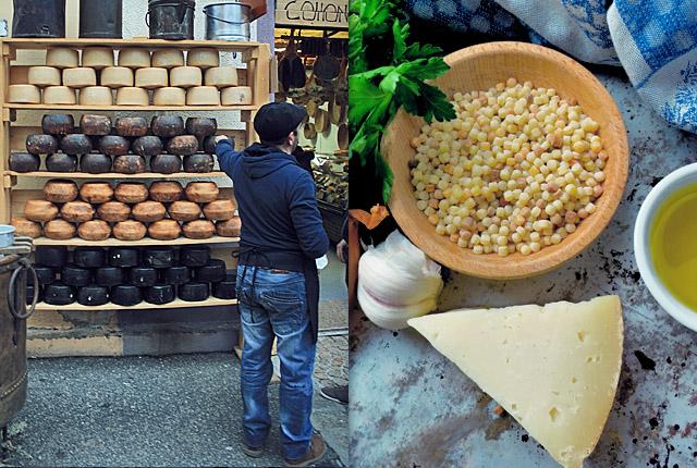 Pecorino und Spezialitäten aus Sardinien