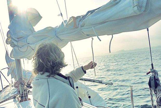 Schöne Aussichten 2017 Der segel-Koch-Blog Die See kocht