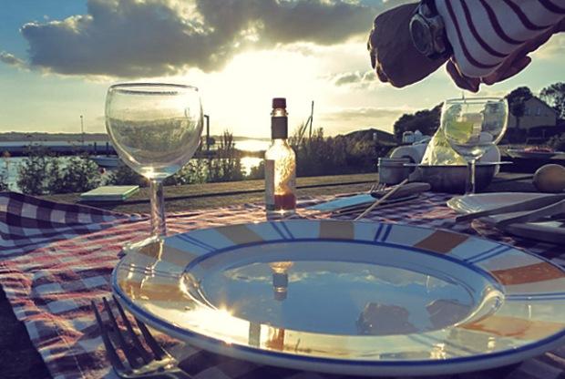 Tischlein deck dich. Die See kocht in Dänemark