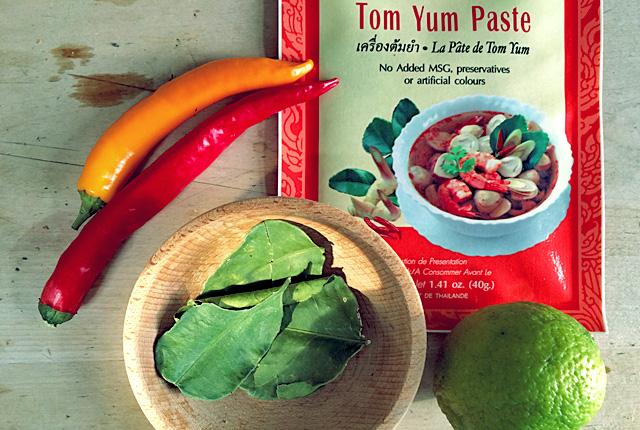 Die See kocht schnelle Tom Yam