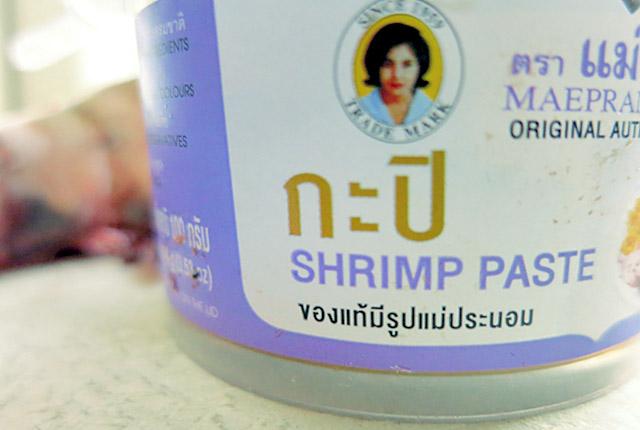 Shrimp Paste Maepranom Naturprodukt