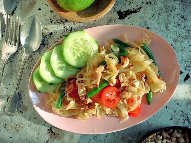 Die See kocht: Som Tam Thai Papayasalat