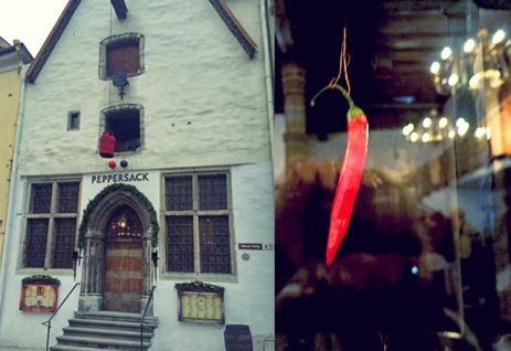 Restaurant Peppersack Tallinn