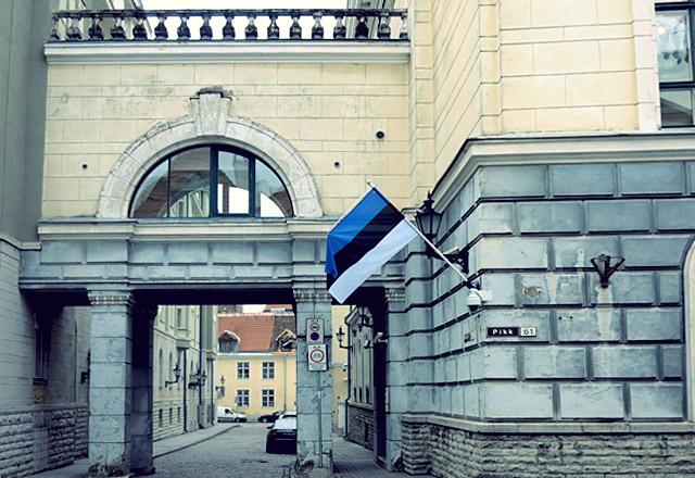 Estland Tallinn im Winter