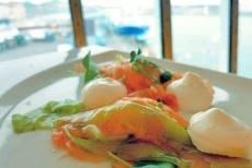 Kochen auf der Silja Serenade Lachsmousse