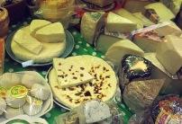 Käse aus Lappland Helsinki Markt