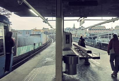 Gamla Stan Ubahn Stockholm