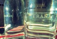 Wassergläser im Tranan Restaurant Stockholm
