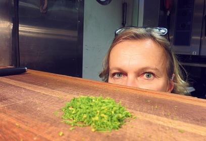 Kombüse Silja Serenade Koch Session mit Matti Jamsen