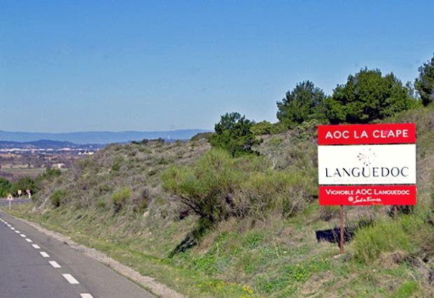 AOC La Clape Vignoble von Landyachting