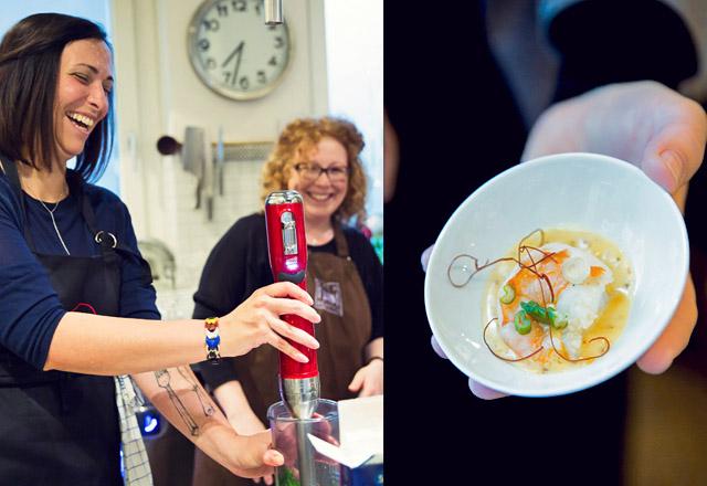 Gute Laune bei My cooking love Affair und Koch Kontor