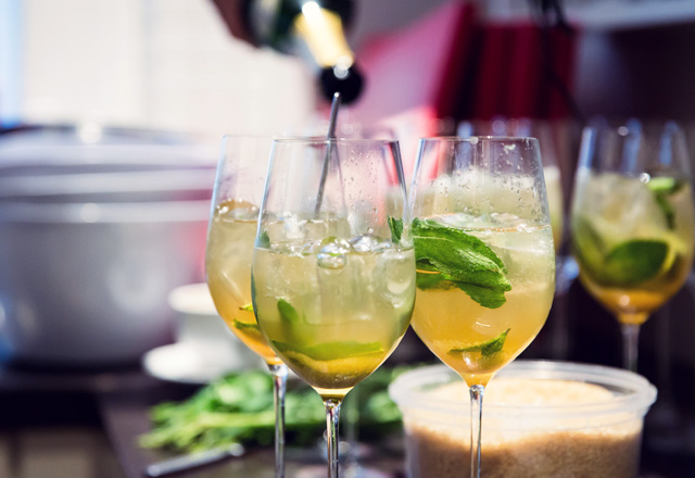 Effilee Mojito Languedoc Style mit Cremant de Limoux
