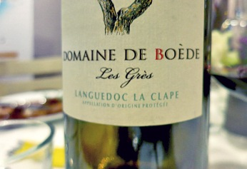 Languedoc Rotwein Domaine Boede Effilee Bloggerevent