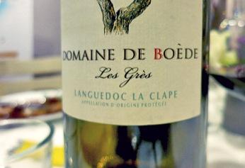 Languedoc Rotwein Domaine Boede Effilee Bloggerevent