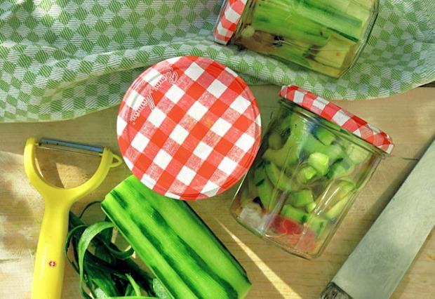 Die See kocht: Eingelegte Gurken Pickles Proviant