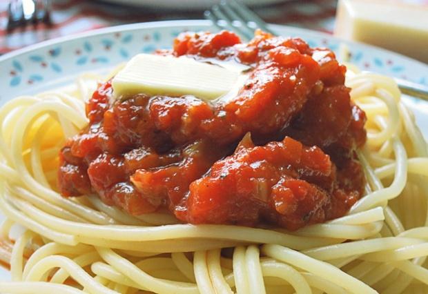 Homemade Tomatensauce nach Miracoli Art