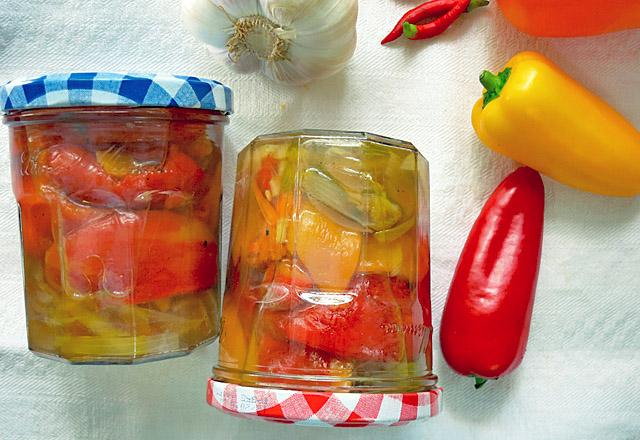 Paprika eingelegt Rezept Antipasti von Die See kocht