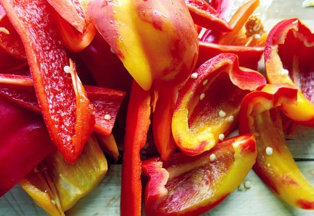 Paprika geputzt Sorte Enjoya