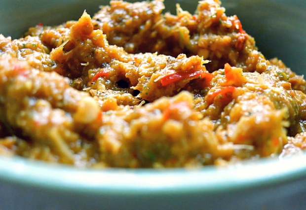Gelbe Thai Curry Paste mit Curry