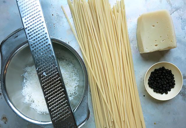 Cacio e pepe Pasta Pfeffer Pecorino