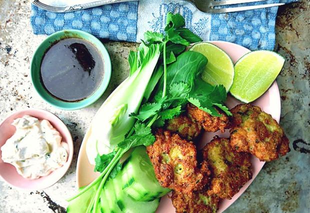 Thailaendische Fischküchlein Tod man Pla
