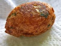 Bolinhos de Balcalhau golbraun frittert