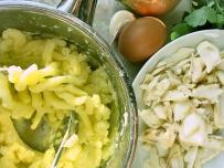 Kartoffel Stampf und Stockfisch