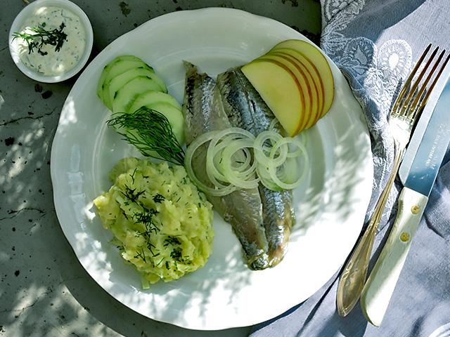 Die See kocht Matjes neu aus Holland