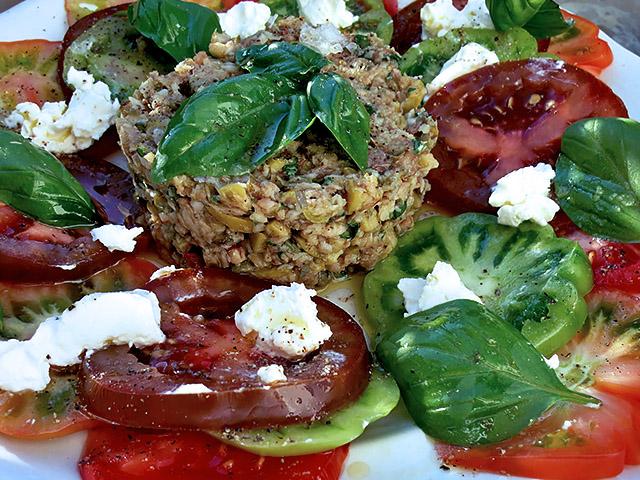 Sardinen Tatar Carpaccio Tomaten