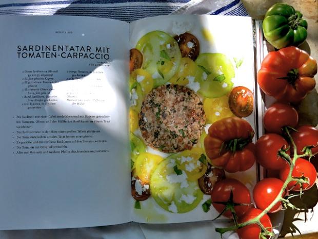 Sardinen Tatar Kochbuch Fisch aus der Dose