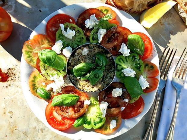 Sardinen Tatar Tomaten Carpaccio